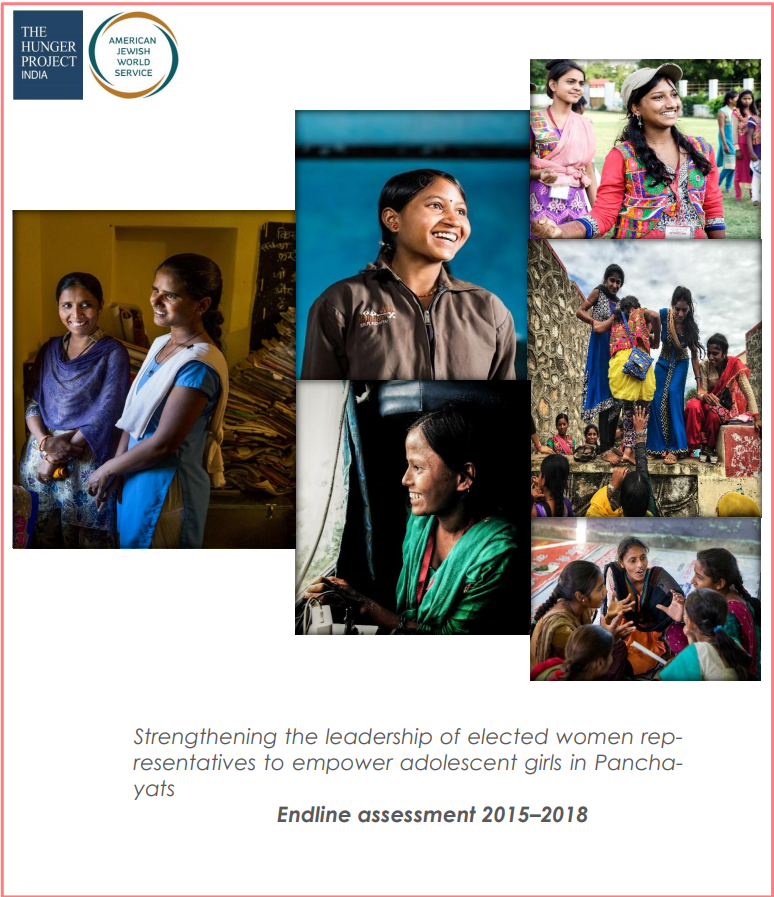Adolescent Girls-Endline Assessment 2015-2018
